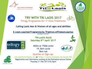 Try with Tri Laois 2017 @ Portlaoise Leisure Centre | Portlaoise | County Laois | Ireland