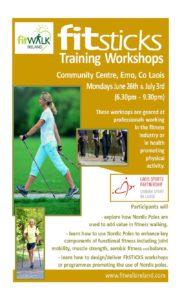 Fitsticks Training Workshop @ Emo Community Centre   Emo   County Laois   Ireland