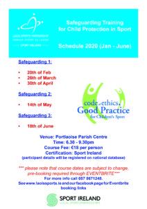 Safeguarding 1 @ Portlaoise Parish Centre