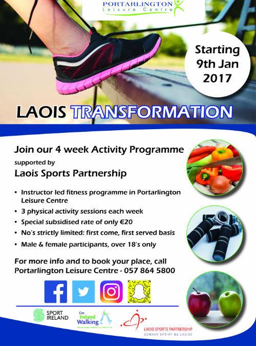 Laois Transformation 2017