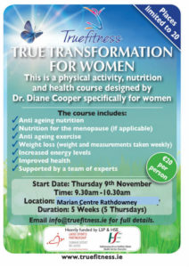 True Transformation for Women @ Marian Centre | Rathdowney | County Laois | Ireland