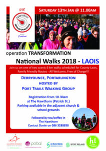 Operation Transformation Walk 2018, Derryounce @ The Hawthorn | Portarlington | County Offaly | Ireland