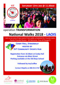 Operation Transformation Walk 2018 Cosby Hall, Stradbally @ Cosby Hall Entrance | Stradbally | County Laois | Ireland