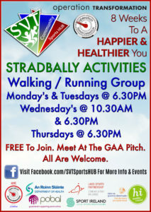 OT Stradbally Activities @ Stradbally GAA Pitch | Stradbally | County Laois | Ireland