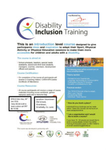 Disability Inclusion Training @ Old School | Vicarstown | County Laois | Ireland