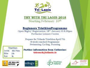 Tri Laois 2018 @ Portlaosie Leisure Centre | Portlaoise | County Laois | Ireland