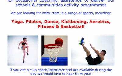 Instructors/Coaches Wanted