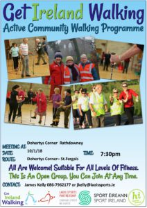 Rathdowney Errill Activity Hub Walk @ Marian Centre | Rathdowney | County Laois | Ireland