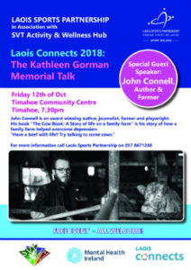 The Kathleen Gorman Memorial Talk @ Timahoe Community Centre | Timahoe | County Laois | Ireland