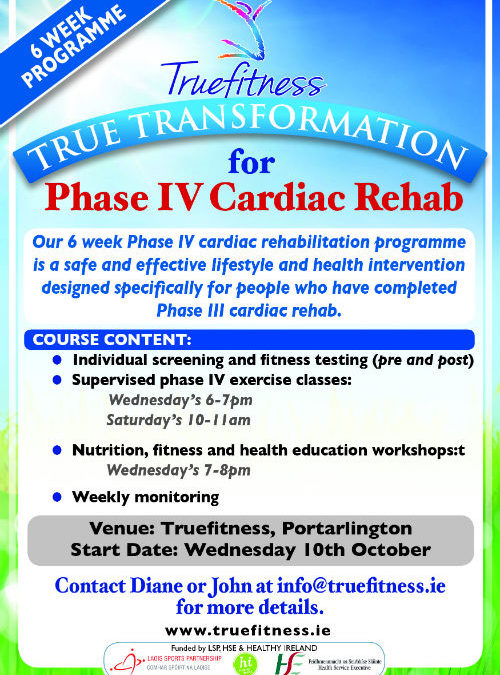 True Transformation for Phase IV Cardiac Rehab