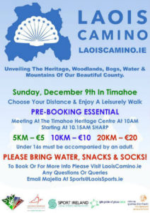 Laois Camino 5k, 10k, 20k @ Timahoe Heritage Centre | Timahoe | County Laois | Ireland