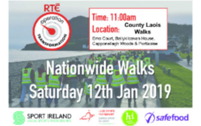 Kick Start your New Year with Operation Transformation Walk