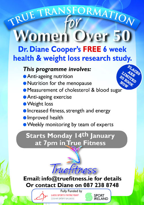 True Transformation for Women Over 50 - Laois Sports Partnership