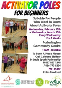 Activator Poles for Beginners @ Portarlington Community Centre