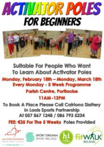 Activator Poles for Beginners @ Parish Centre,