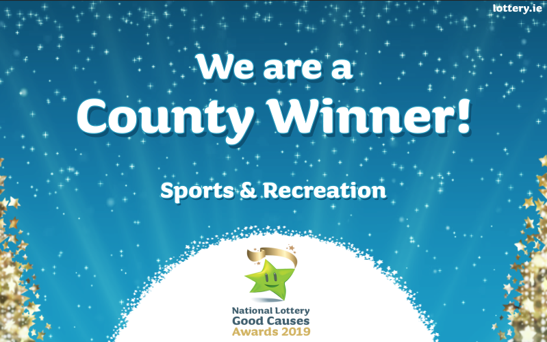 Congratulations! You are a County winner of the National Lottery Good Causes Awards 2019!