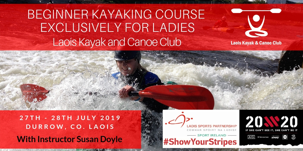 Beginners Kayak Course exclusively for Ladies