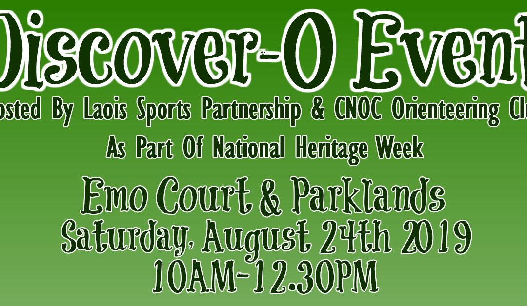 Discover-O Event