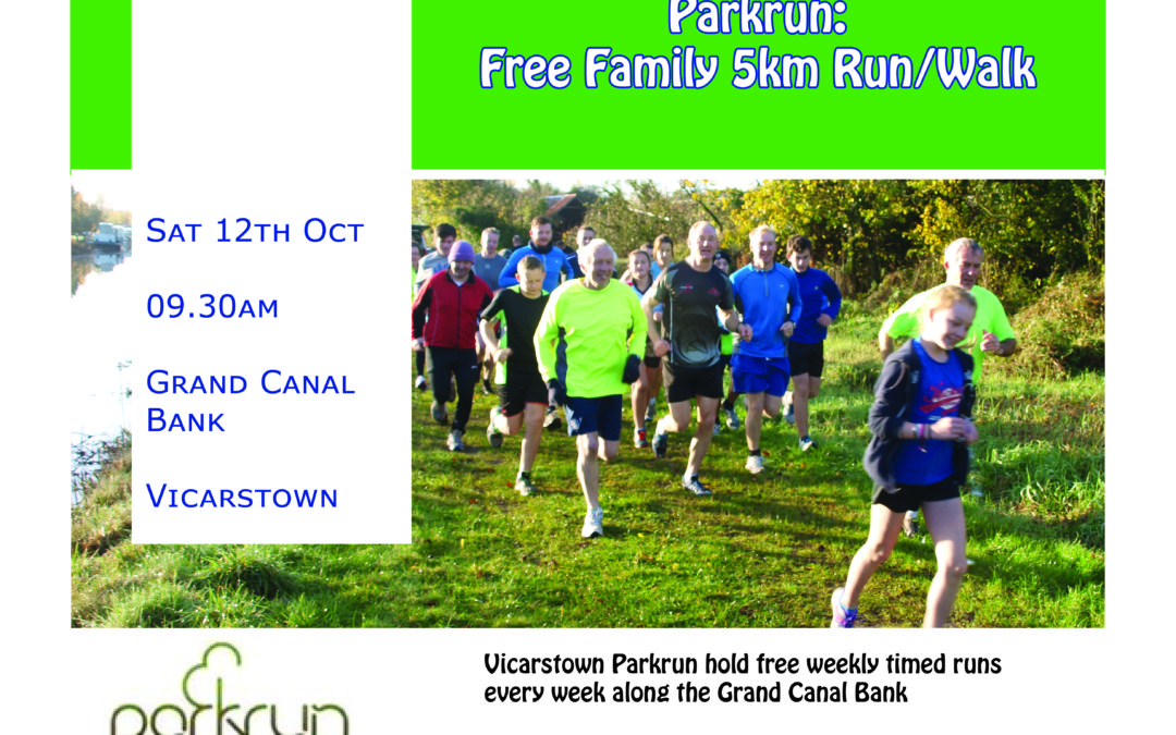 Vicarstown Parkrun for Laois Connects Week