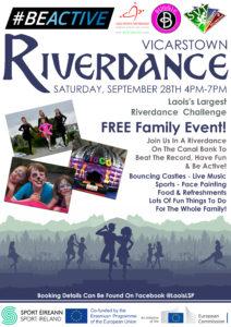 Riverdance #BeActive Night @ Grand Canal Bank