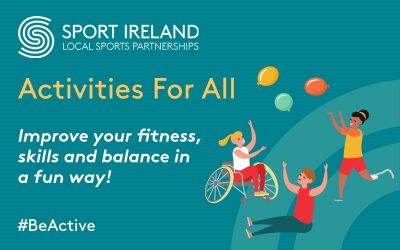 Sport Ireland & Local Sports Partnerships launch Activities for All