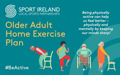 Laois Sports Partnership & Sport Ireland Older Adults Exercises Plan