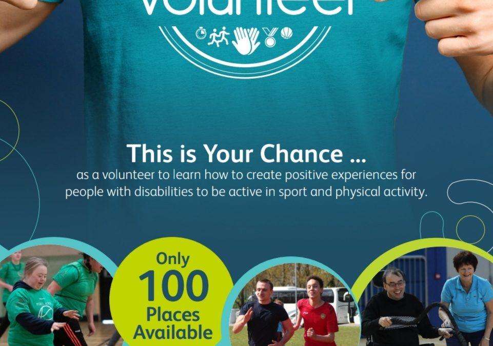 Inclusive Volunteer in Sport Programme launched